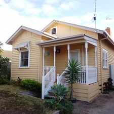 Rental info for COSY COTTAGE BY THE SEA in the Melbourne area