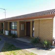 Rental info for Spacious two bedroom unit in the Wodonga area