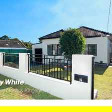 Rental info for Just Listed - Fully Renovated 3 Bedroom House in the Kingsgrove area