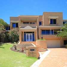 Rental info for STUNNING EXECUTIVE RESIDENCE. in the Ocean Reef area