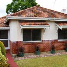 Rental info for Location location in the Perth area