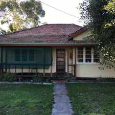 Rental info for HOME OPEN SATURDAY 16/09/2017 BETWEEN 1.55PM - 2.05PM in the Midland area
