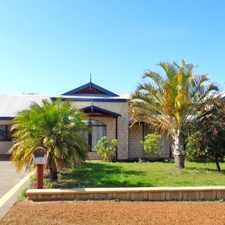 Rental info for LARGE FAMILY HOME- LARGE BLOCK in the Strathalbyn area