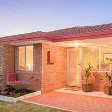 Rental info for HOME OPEN SATURDAY 16/09/2017 BETWEEN 10.00AM - 10.10AM in the Seville Grove area