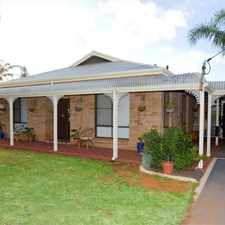 Rental info for BEAUTIFUL EXECUTIVE FOUR BEDROOMS TWO BATHROOM WITH POOL in the Kalgoorlie - Boulder area
