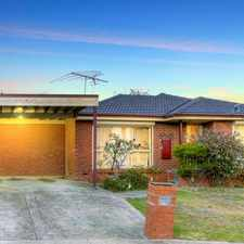 Rental info for Ideal Family Home In Wonderful Location! in the Bundoora area