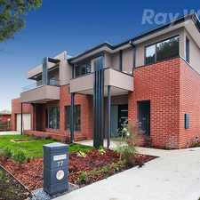 Rental info for SPACIOUS TOWNHOUSE IN THE HEART OF MITCHAM
