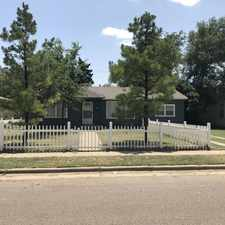 Rental info for 4107 32nd Street in the Lubbock area