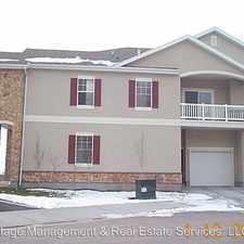 Rental info for 1208 South Meadow Fork #4