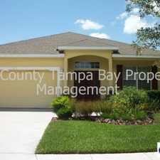Rental info for 11915 Colony Lakes Drive in the Uptown Tampa area
