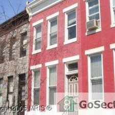 Rental info for Renovated Spacious Three Bedroom in Baltimore in the Franklin Square area