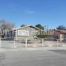 Rental info for Single story 3 bed home with fully gated lot in the North Las Vegas area