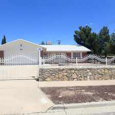 Rental info for 7001 Cochise in the El Paso area