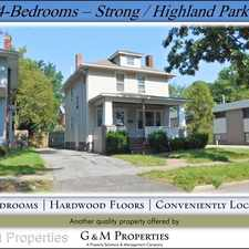 Rental info for 1387 South Ave.