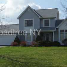 Rental info for Spacious home with master suite in Victor schools!