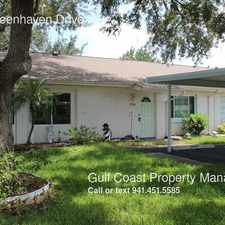 Rental info for 2226 Greenhaven Drive in the Sun City Center area
