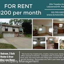 Rental info for 204 Topeka Ave