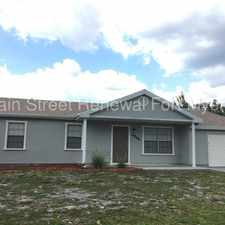 Rental info for 6866 Carovel Avenue in the North Port area