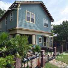 Rental info for 517 MONTANA ST 2 in the San Antonio area