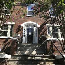 Rental info for 3643 Jenifer Street, NW in the Chevy Chase-DC area