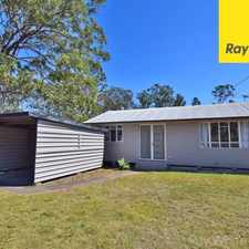 Rental info for OPEN HOME: SAT 16 SEP @ 10:00AM WELL PRICED 3 BEDROOM HOME IN DARRA in the Darra area