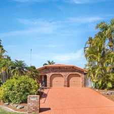 Rental info for GOLDEN OPPORTUNITY IN SOUGHT AFTER SUBURB OF PARKWOOD- 4 BEDROOM FAMILY HOME in the Parkwood area