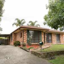 Rental info for NEAT 3 BEDROOM HOME in the Wollongong area