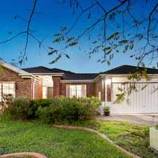 Rental info for Magnificent Family Home on Private Corner Allotment in the Melton West area