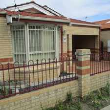Rental info for LOW MAINTENANCE FAMILY HOME in the Queens Park area