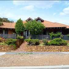Rental info for Very Private 2x2 Walking Distance to Heart of Kalamunda!
