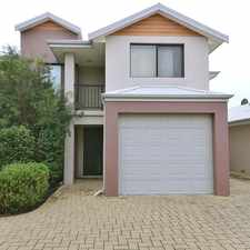 Rental info for ALFRED COVE EASY CARE THREE BEDROOM TOWNHOUSE in the Alfred Cove area