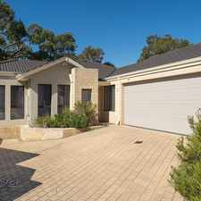 Rental info for A SECURE LOW MAINTENANCE VILLA IN GREAT LOCATION in the Perth area