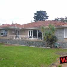 Rental info for SPACIOUS FAMILY HOME CLOSE TO CBD in the Albany area