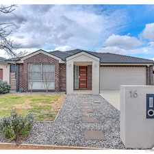 Rental info for Ideal Family Offering- UNDER APPLICATION!! in the Canberra area