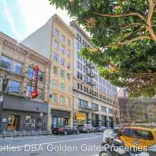 Rental info for 30 Mason Street, Unit #501 in the Downtown-Union Square area