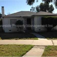 Rental info for Wood Streets area charmer!! in the Rubidoux area
