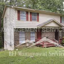 Rental info for 1719 6th Place Circle Northwest in the Birmingham area