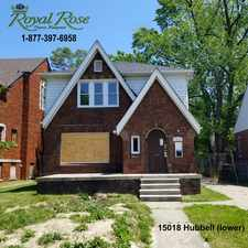 Rental info for 15018 Hubbell in the Grandmont area