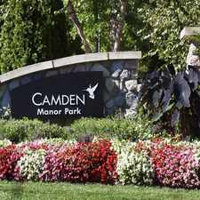 Rental info for Camden Manor Park
