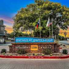 Rental info for Enclave at Waters Edge Apartment Homes in the Austin area