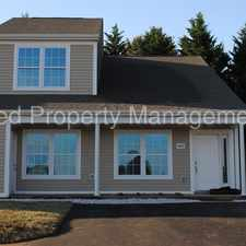 Rental info for Beautiful New 3 bedroom 2 bath townhouse in the Christiansburg area