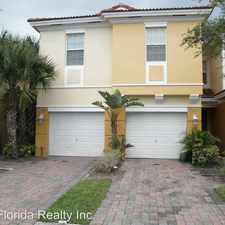 Rental info for 847 Pipers Cay Drive