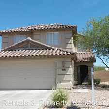 Rental info for 22394 W Desert Bloom