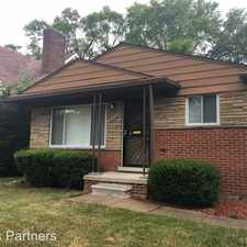 Rental info for 16208 Greenview in the Rosedale Park area