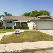 Rental info for 4601 Triple Crown Dr in the Bakersfield area