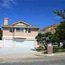 Rental info for 19021 KILFINAN Street Porter Ranch Four BR, Gorgeous Home that in the Porter Ranch area