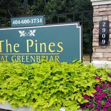Rental info for Pines at Greenbriar in the Southwest Atlanta area