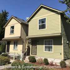 Rental info for 11127 SE Division Ct. in the Powellhurst-Gilbert area