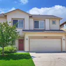 Rental info for WELL MAINTAINED 3 BEDROOM/2.5 BATH HOME FOR SALE - COLORADO SPRINGS in the Colorado Springs area