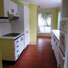 Rental info for WATERFRONT TOWNHOUSE IN GREAT LOCATION in the Gold Coast area